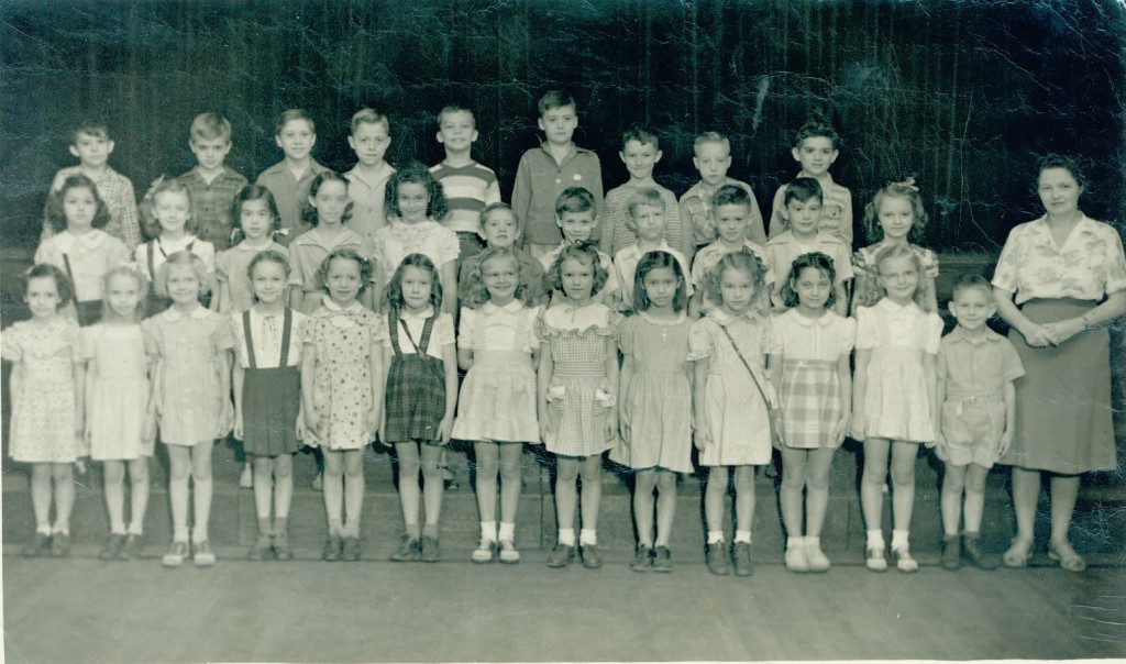 1946-1947 PCL 1st Grade - Mrs Davis
