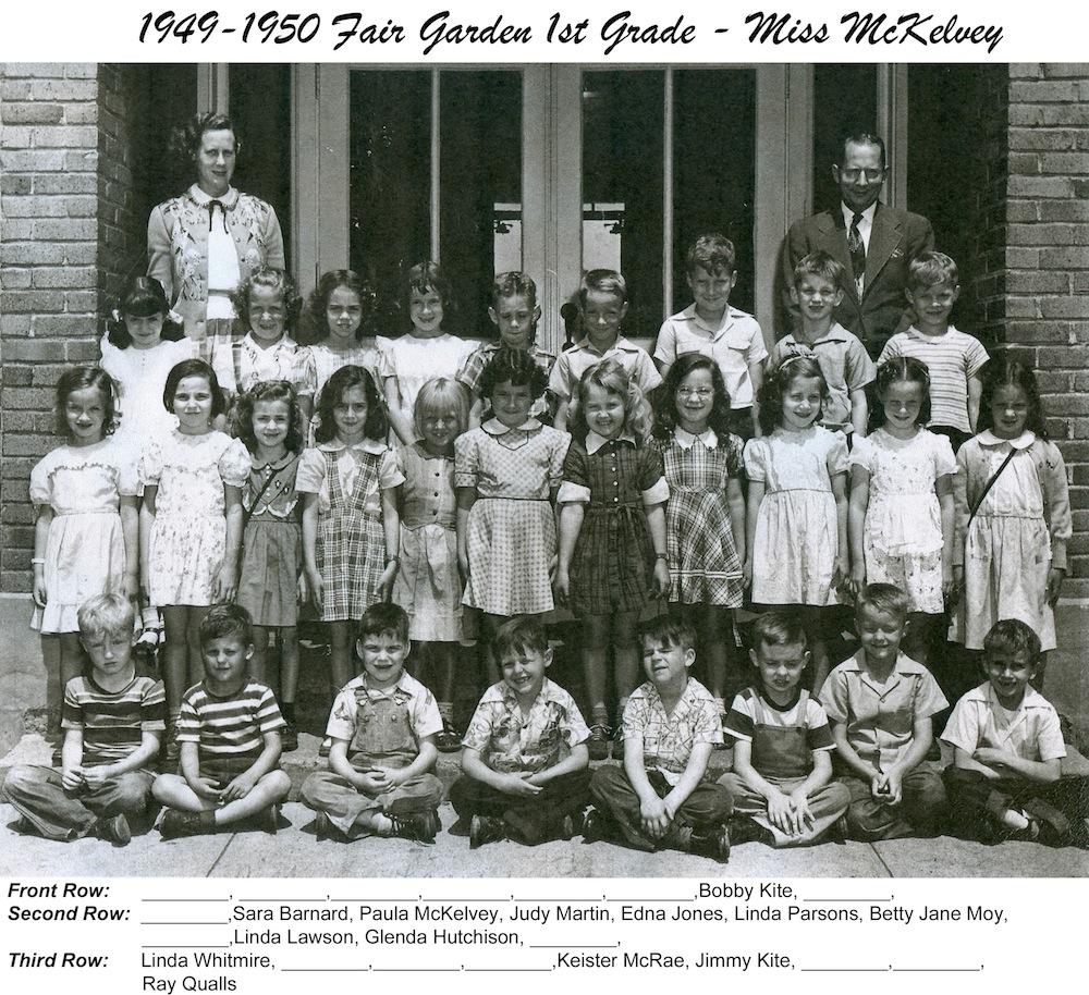 1949_50_FG_1st_Grade_Miss_McKelvey