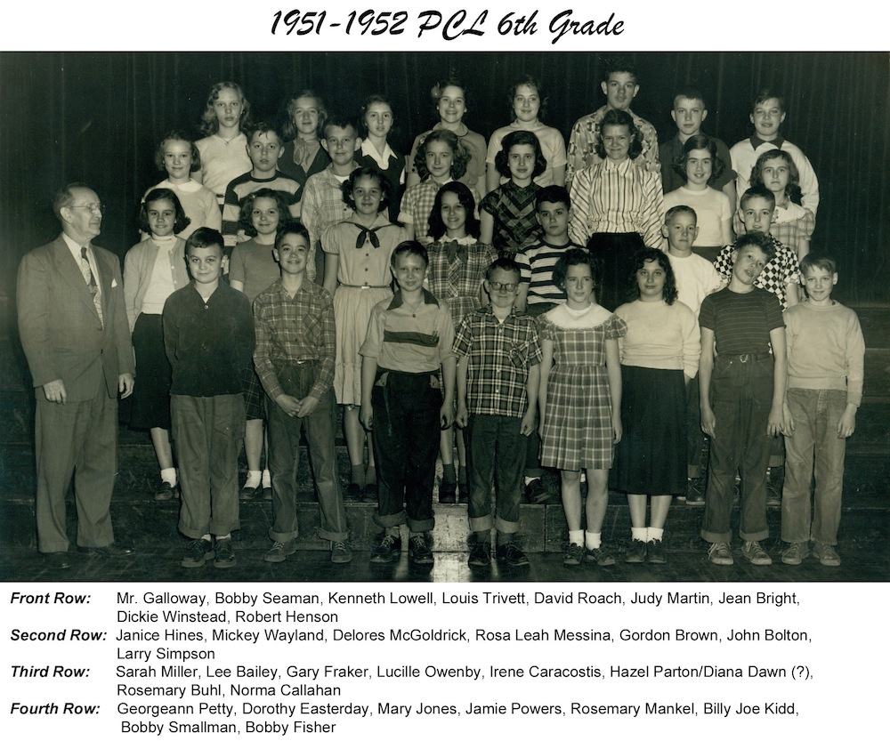 1951_1952_Spring_PCL_6th_Grade