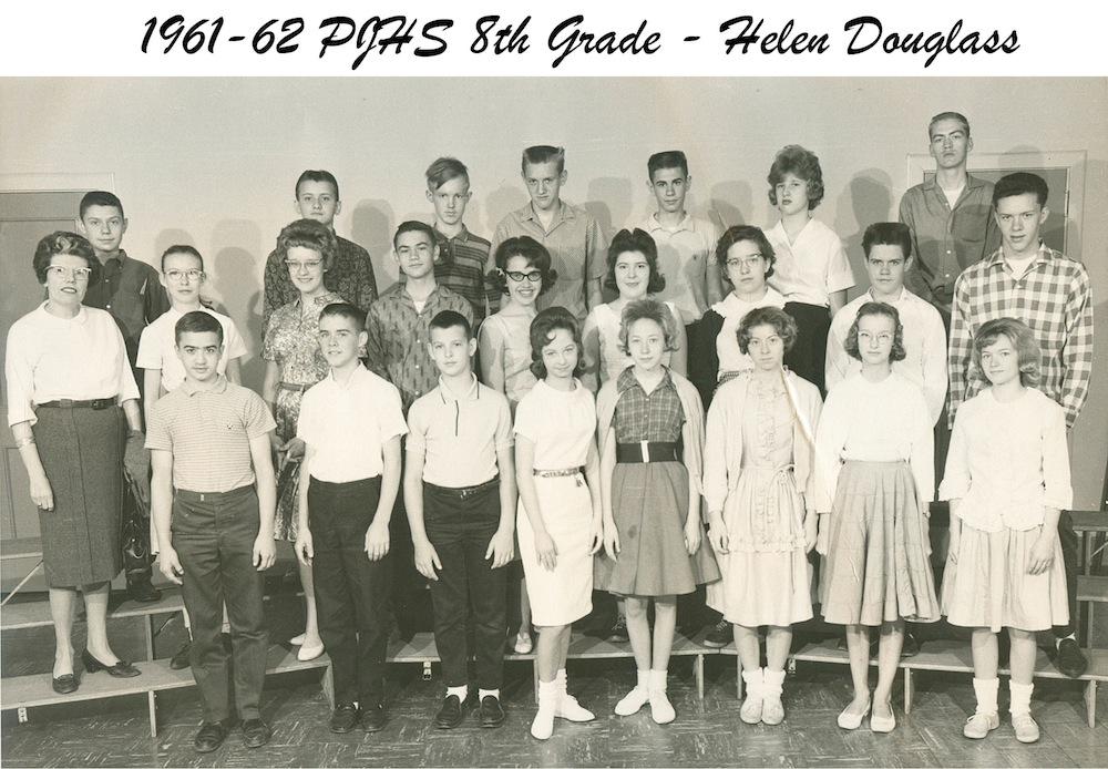 1961_62_PJHS_8th_Grade_Helen_Douglass