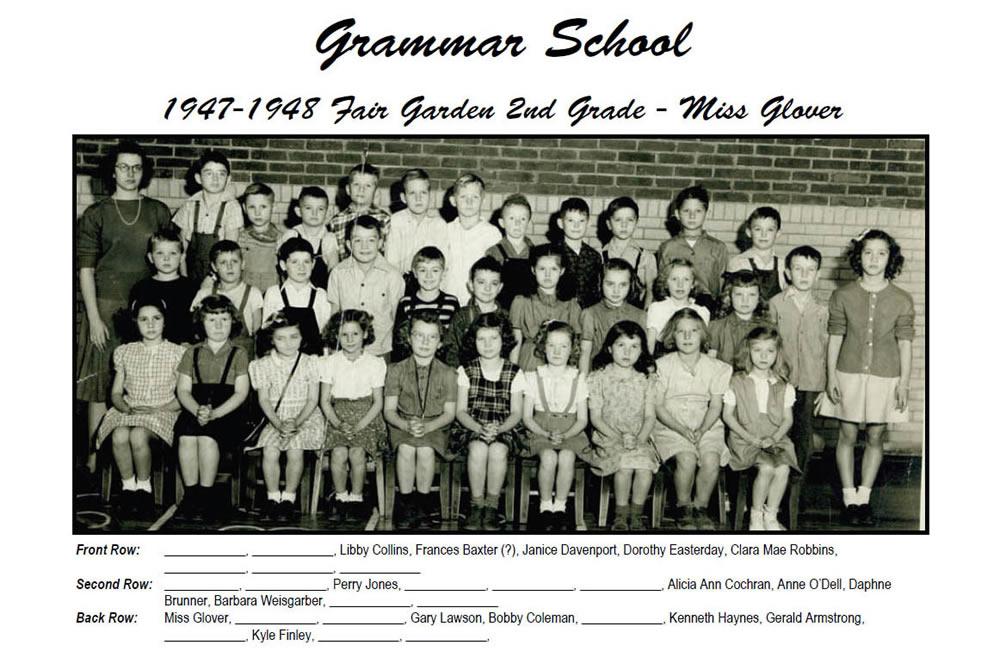 FG_1947_48_2nd_Grade_Miss_Glover