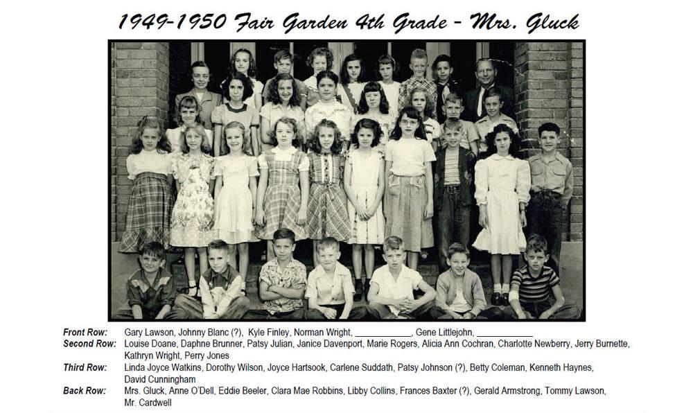 FG_1949_50_4th_Grade_Mrs_Gluck