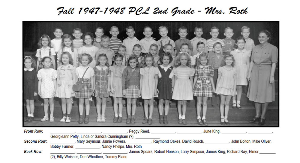PCL_1947_48_2nd_Grade_Mrs Roth