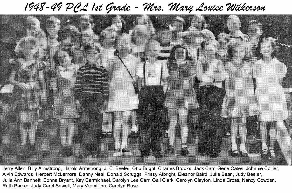 PCL_1948_49_1st_Grade_Mary_Louise_Wilkerson