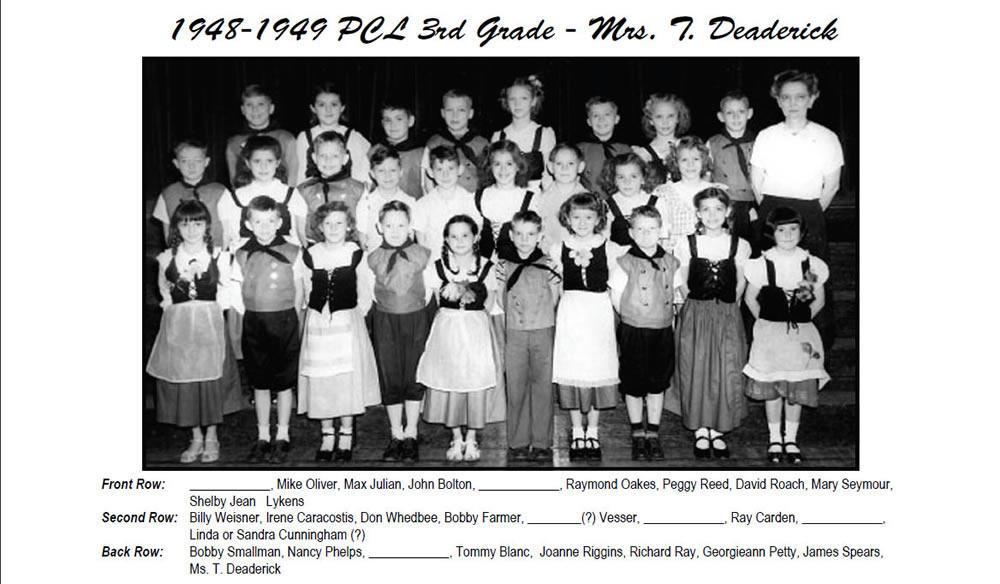 PCL_1948_49_3rd_Grade_Mrs_Deaderick