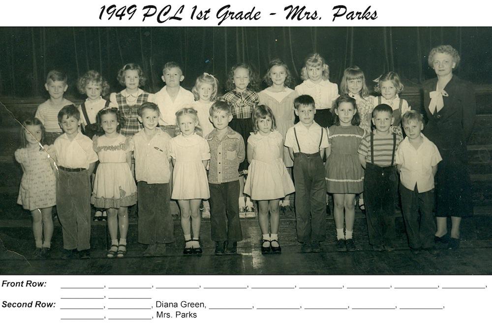 PCL_1949_1st_Grade_Mrs_Parks