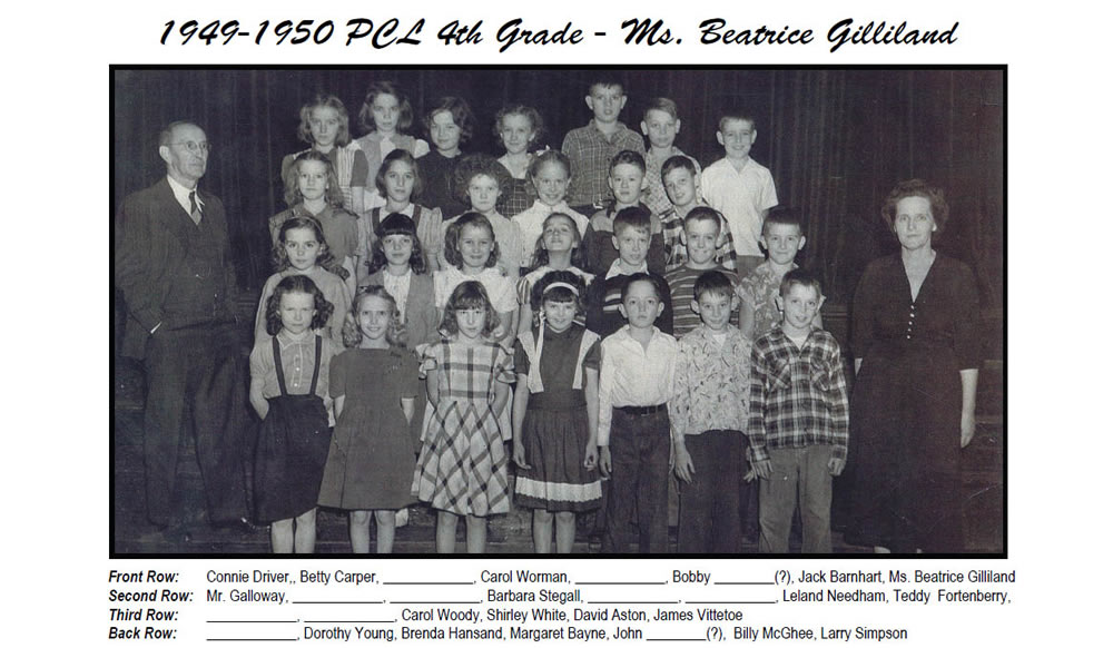 PCL_1949_50_4th_Grade_Ms_Beatrice_Gilliland