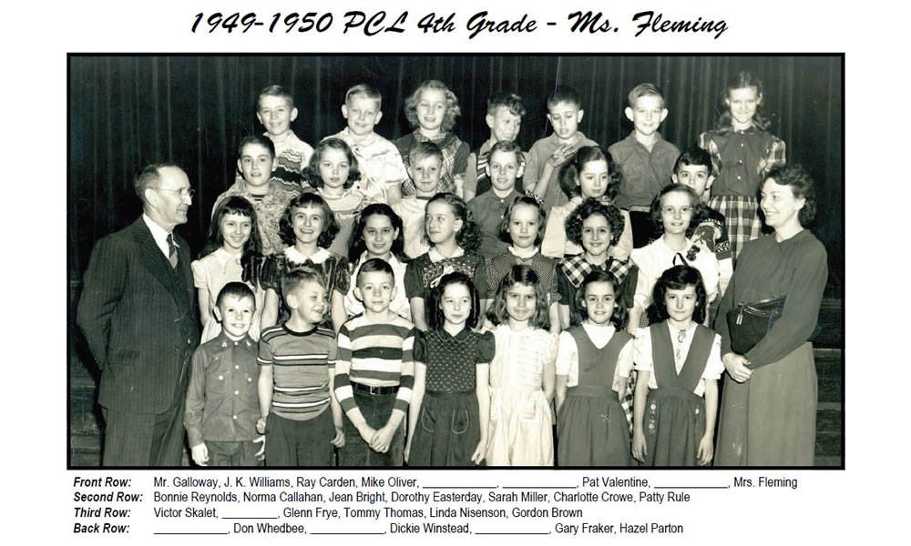 PCL_1949_50_4th_Grade_Ms_Fleming