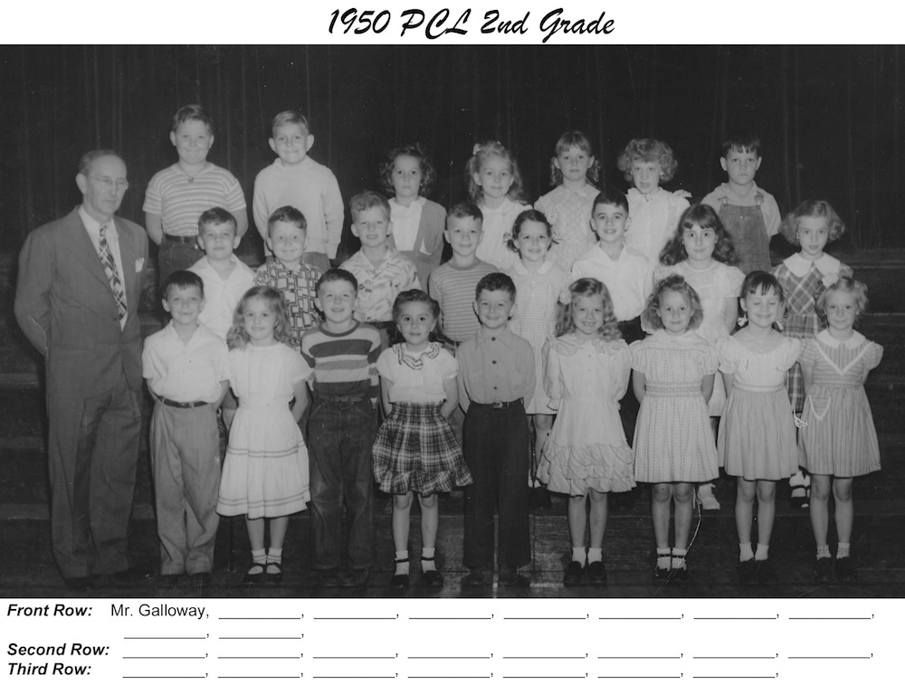 PCL_1950_2nd_Grade_