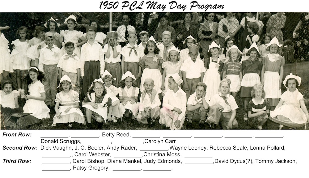 PCL_1950_May Day Program