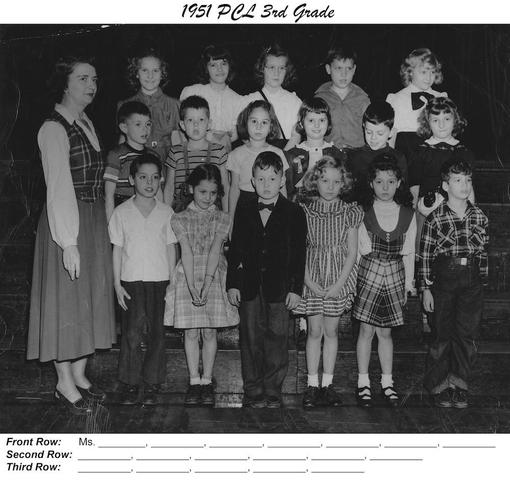 PCL_1951_3rd_Grade