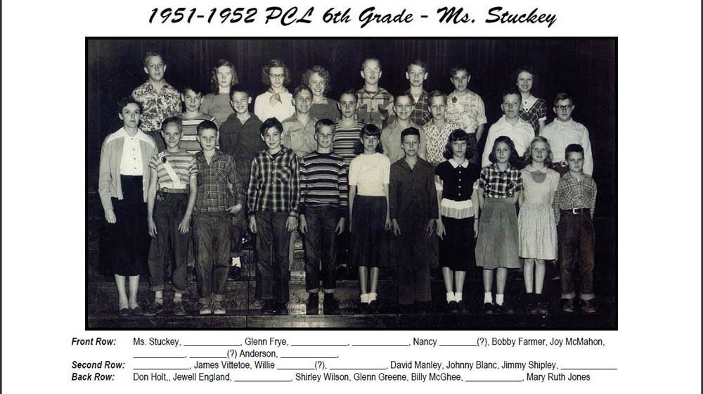 PCL_1951_52_6th_Grade_Ms_Stuckey