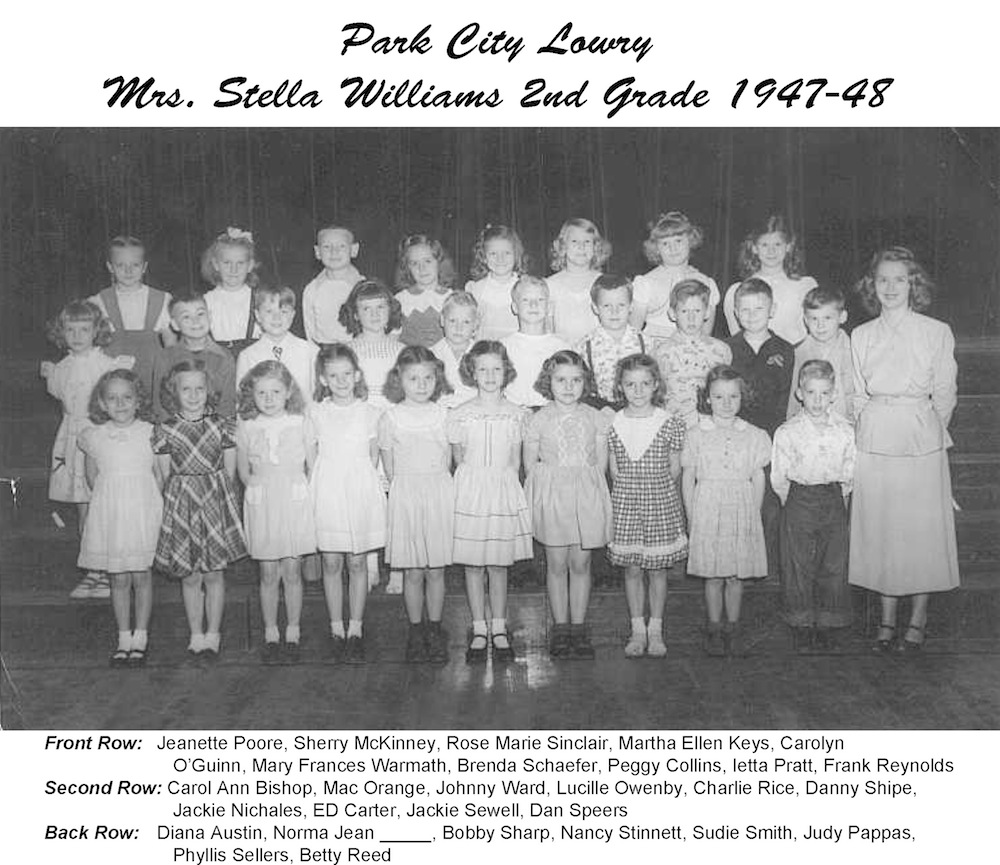 1947_48_PCL_2nd_Grade_Mrs_Williams