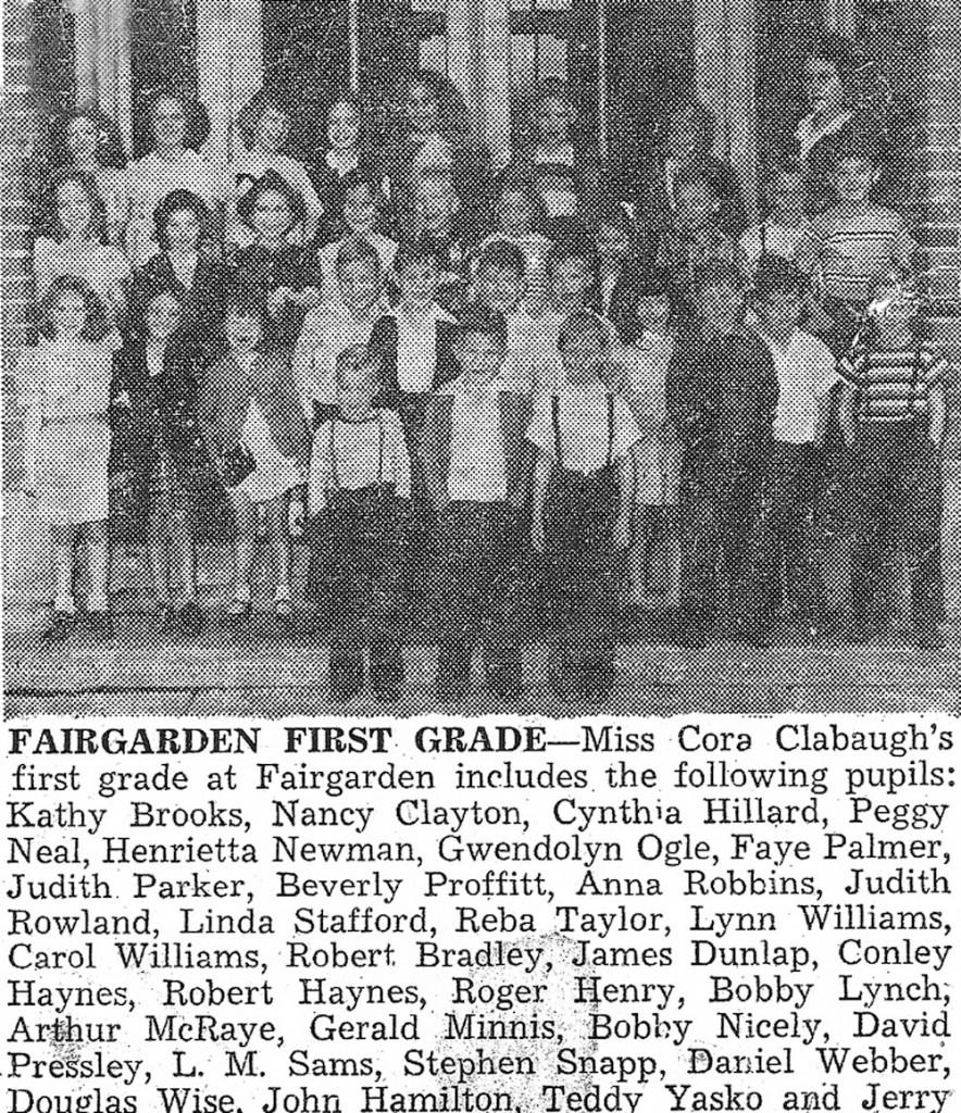 1948-49 Fair Garden 1st Grade