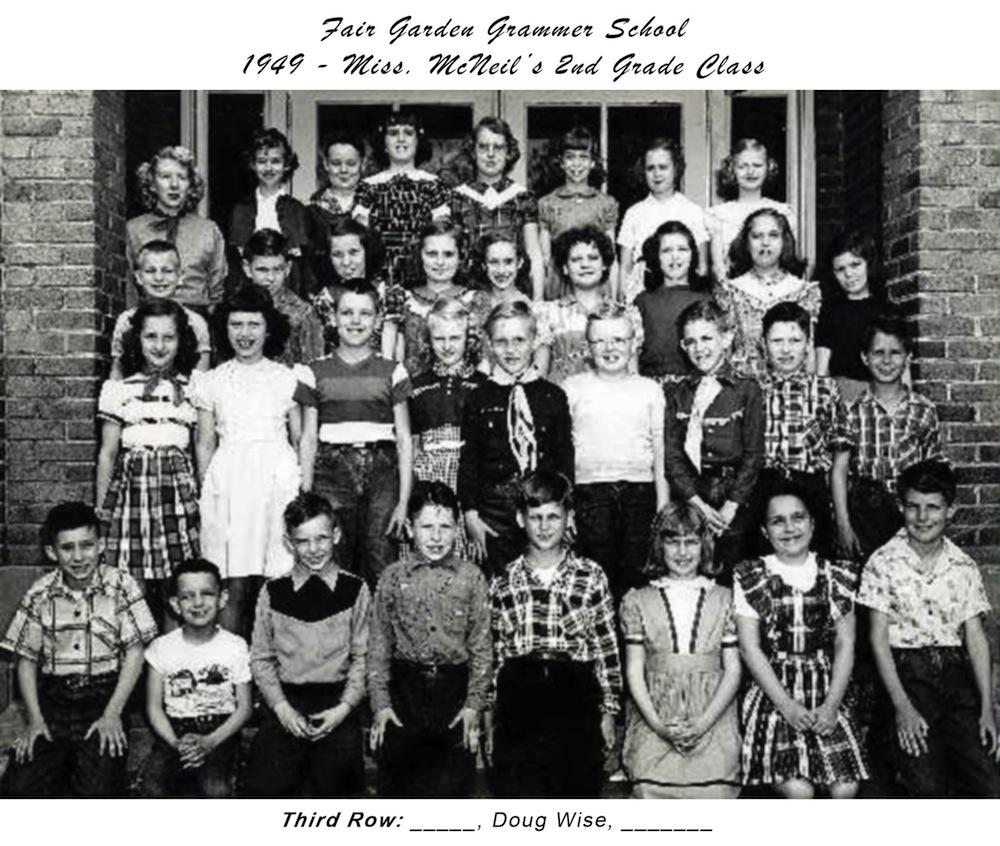 1949 Fair Garden Grammar Miss_McNeil_2nd_Grade (with_title)