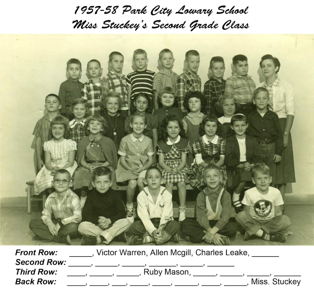 1957-58-PCL-2nd-Grade-Miss-Stuckey-with-names